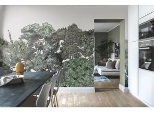 Fototapet premium, model 3d, copaci seculari, dimensiuni pe comanda