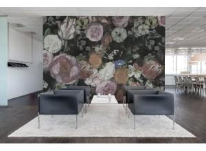 Fototapet premium, model 3d, Fototapet roz extravagant Blooming, Pastel, dimensiuni pe comanda