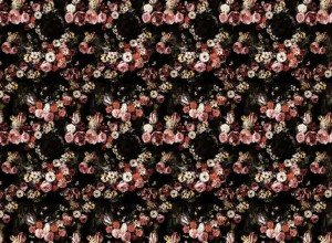Fototapet premium, model 3d, floral romantic, Briar Roses, dimensiuni pe comanda