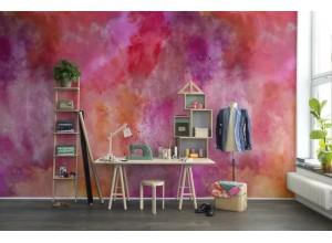Fototapet premium, model 3d, Dinamic, energizant și dramatic, Color Clouds, Chili, dimensiuni pe comanda