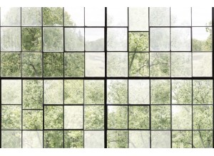 Fototapet premium, model 3d, Factory Window, Pastel, dimensiuni pe comanda