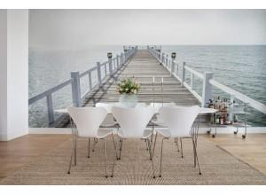 Fototapet premium, model 3d, briza mării Hampton Pier, dimensiuni pe comanda