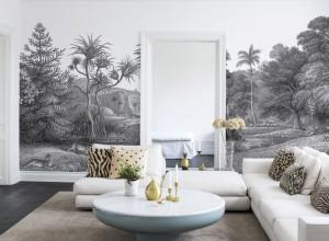 Fototapet premium, model 3d, Jungle Land plăcuțe de cupru, dimensiuni pe comanda