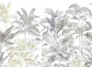 Fototapet premium, model 3d, Pride Palms - Palmieri, Pastel, dimensiuni pe comanda