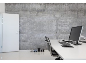 Fototapet premium, model 3d, Design uimitor industrial Wooden Concrete, Pastel, dimensiuni pe comanda