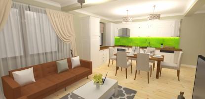 Design Interior - Casa Stil Eclectic in Ramnicu Valcea