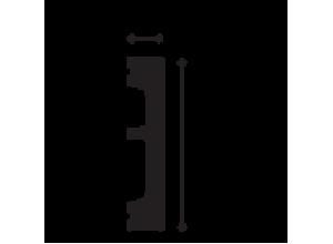 Plinta Duropolimer DX157 -2,3ML