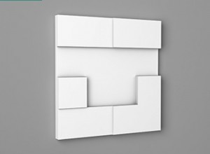 Panou Decorativ 3D - W103 CUBI