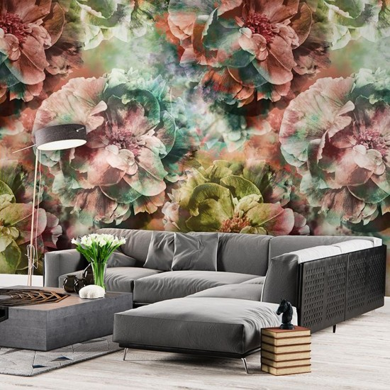 Fototapet premium, model floral, colectia Colorful cod  7293, rola de 5.6 mp