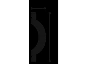 Profil Decorativ Luxxus P9901-2ML