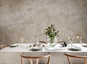 Fototapet premium, model 3d opulence marble , dimensiuni pe comanda