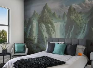 Fototapet premium, model 3d fantasy world , dimensiuni pe comanda