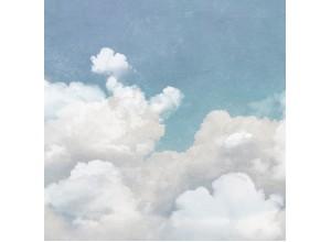 Fototapet premium, model 3d cu  nori pufosi , dimensiuni pe comanda