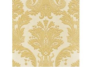 "Tapet Zambaiti, Colectia ""Romantic"", design elegant pe fond matasos, auriu,  Z1705, Rola de 5,3 mp"